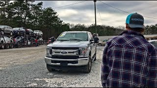 Rebuilding A Wrecked 2017 Ford F-250