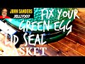 How to properly seal the lid Gasket of your Big Green Egg