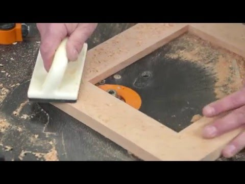 How to build a mitre free picture frame