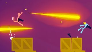 DESERT EAGLE DOMINATION! - Stick Fight Pistol Only Challenge! - Stick Fight Gameplay