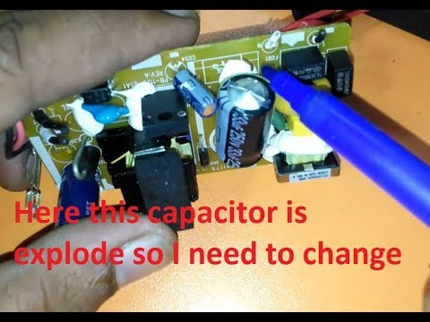 How To Check & Repair SMPS. switch mode power supply