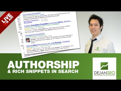 Rich Snippets & Authorship Hangout