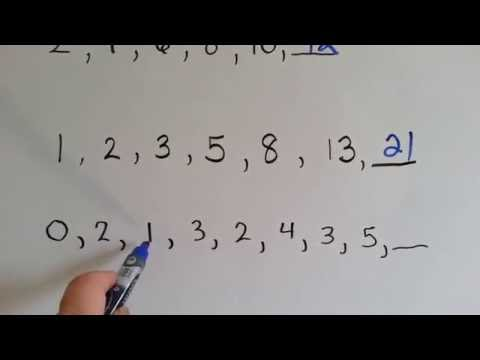 Grade 4 Math 5.6, What are Patterns and Terms