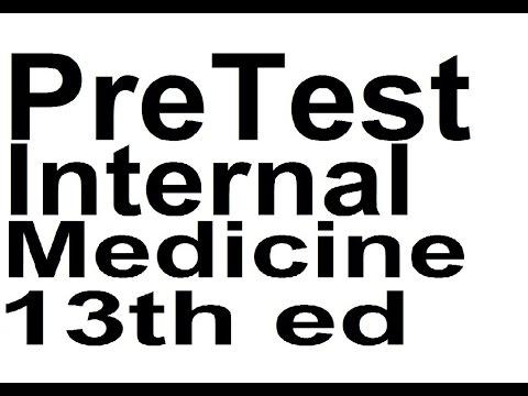 IM04.Pretest Internal Medicine 13th ed