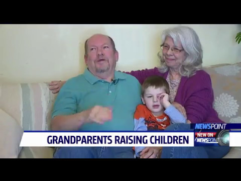 Couple offering support to other grandparents raising their grandchildren