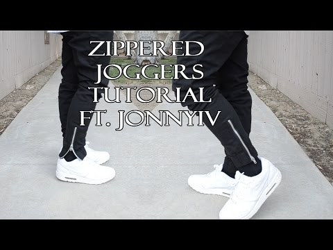 DIY: HOW TO ADD ZIPPERS TO YOUR PANTS | KAD Customs #44