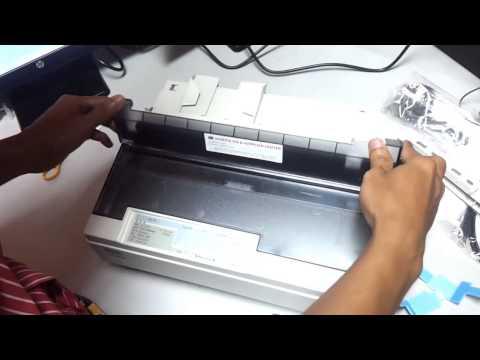 Setup dot matrix printer LQ310