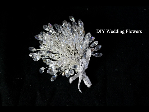 Diy Wedding Crystal Flowers