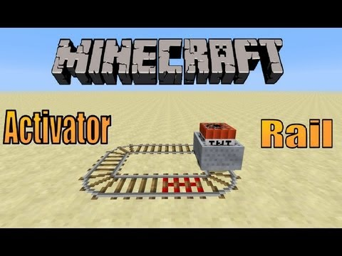 How To Make A Activator Rail | Minecraft 1.7.9 Tutorial