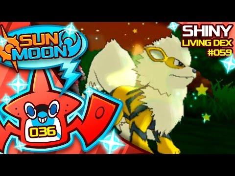 COMPETITIVE SHINY?! SHINY ARCANINE!! Quest For Shiny Living Dex #059 | Pokemon Sun Moon Shiny #36