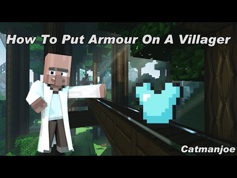 Minecraft Console TU64 How To Put Armour On A Villager! - Tutorial - New