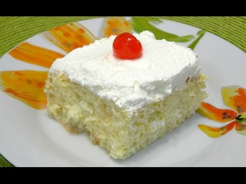 Traditional Tres leches Cake or Three Milk Cake