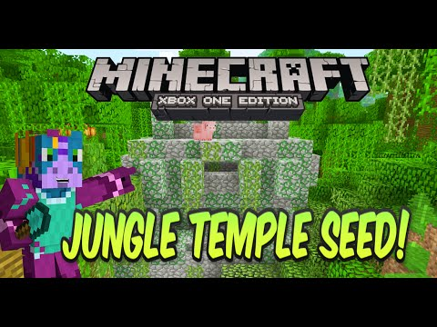 Minecraft Xbox One/PS4 Jungle Temple At Spawn Seed