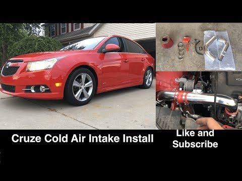 Chevy Cruze 1.4 Cold Air Intake Install - DIY How To