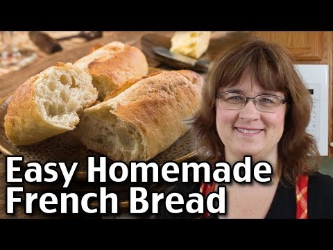 How To Make Homemade French Bread! Quick And Easy Recipe! (Short Version)
