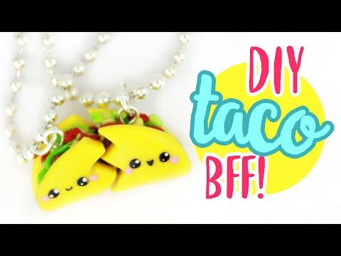 DIY TACO BFF CHARMS!! | KAWAII FRIDAY