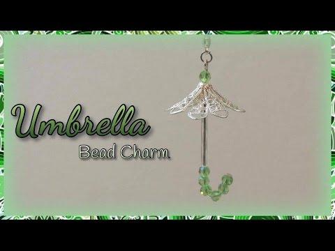 Umbrella Bead Charm