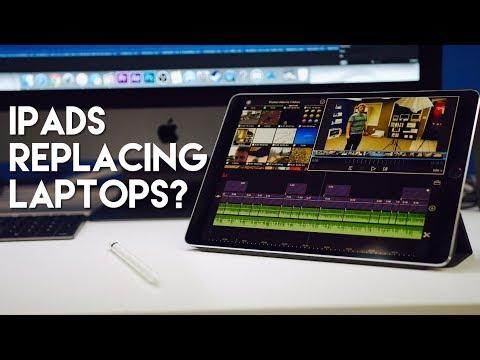 iPads still replacing laptops? + Pro App Recommendations