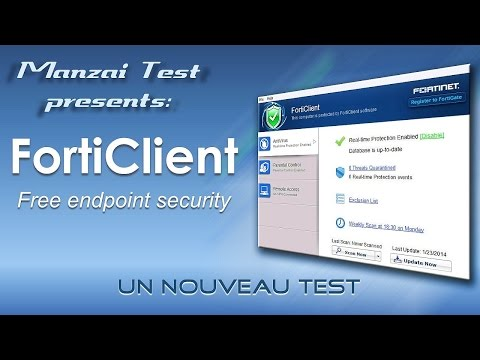 [Test Musical] FortiClient Free 5.2