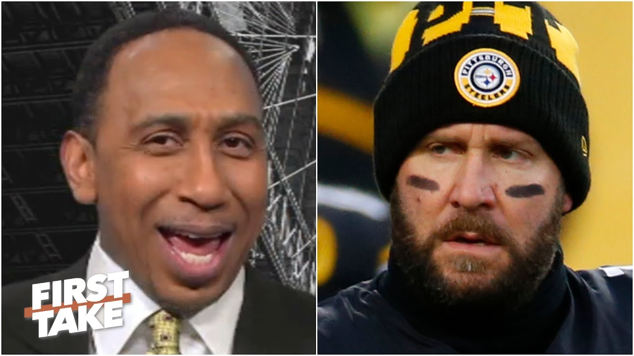 Stephen A. loves that the Steelers' perfect season is over | First Take | First Take