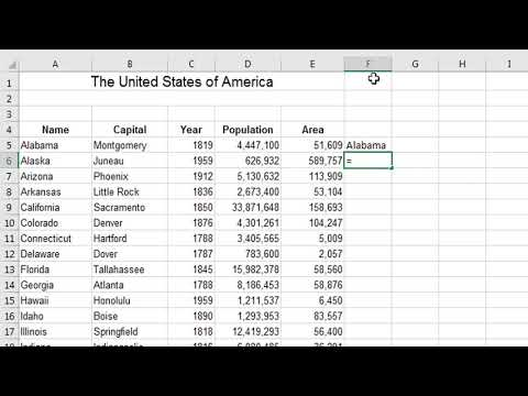 How To Convert a Column or Rows of Data into Comma Separated Values | Excel 2016/2013/2010/2007