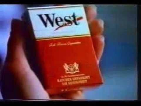 alte West Zigaretten Werbung Fernsehen (2)