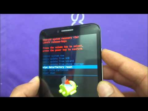 Alcatel Fierce XL Hard Reset\Master reset For Metro Pcs\T-mobile