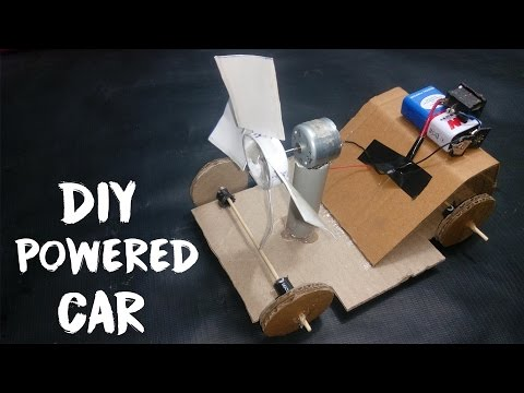 How to make a Powered Car At Home