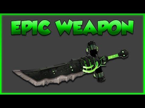 Epic Sword and Cape Combo AQW (Epic Free Drop Blade)