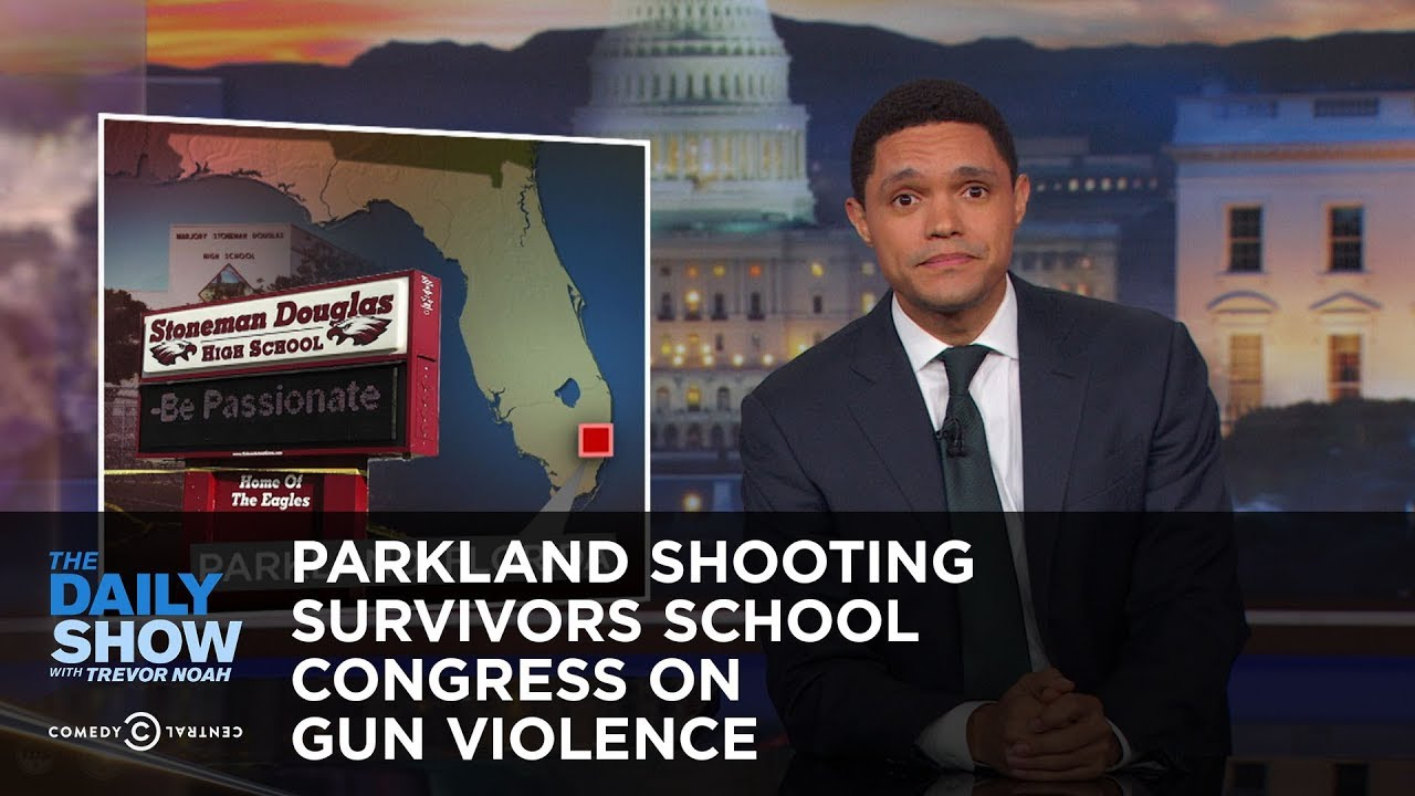 Parkland Shooting Survivors School Congress on Gun Violence: The Daily Show