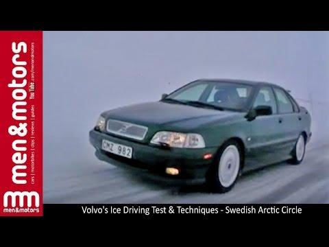 Volvo's Ice Driving Test & Techniques - Swedish Arctic Circle
