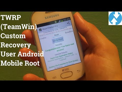 Samsung Galaxy Star S5280 & S5282 Root or TWRP custom recovery User Root