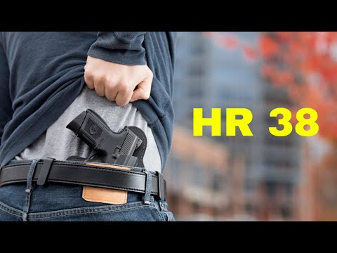 HR 38 National Reciprocity Mark Up Tomorrow