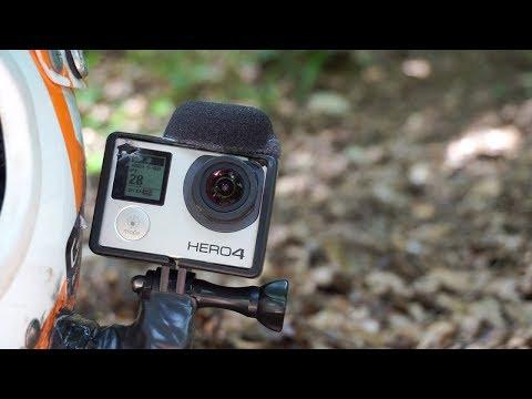 GOPRO MICROPHONE HACK - DOWNHILL MTB TEST