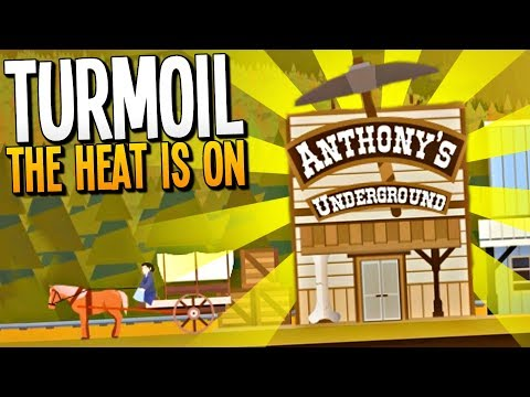 DRILLING FOR HOT MOLTEN TREASURES - Turmoil The Heat is On Gameplay