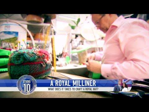 ROYAL WEDDING: What It Takes To Craft A Royal Hat | Studio 10