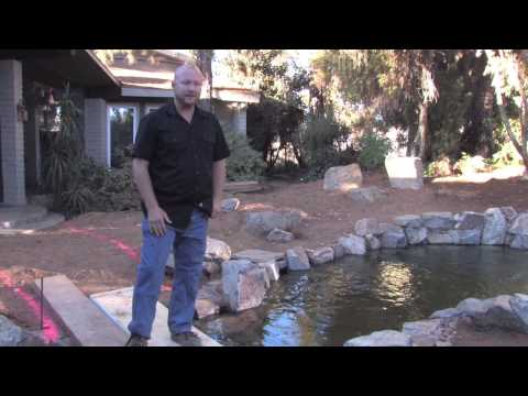 Koi Pond Design Fundamentals