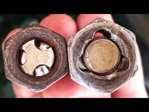 Amazing idea with nut & bolt !