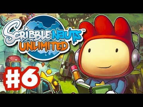 Scribblenauts Unlimited - Gameplay Walkthrough Part 6 - Hyphen Heights (PC, Wii U, 3DS)