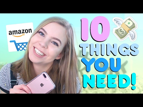 10 Cool Things To Buy on Amazon!