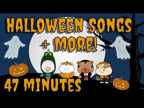 Halloween Songs plus more! | Kids Song Compilation | The Singing Walrus