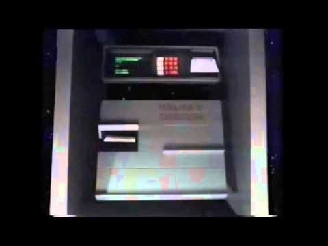 Halifax Card Cash Machine advert from the eighties