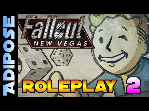 Let's Roleplay Fallout New Vegas #2 The Folks who live on the casino