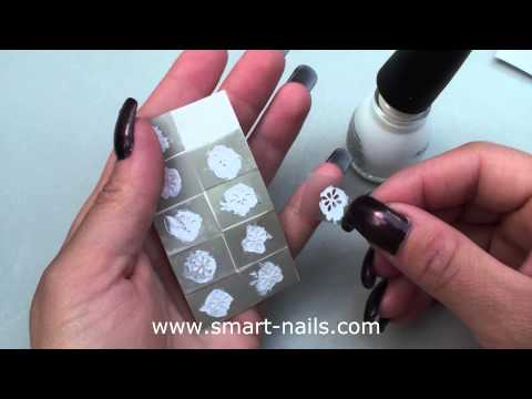 How to reuse the smART nails stencils