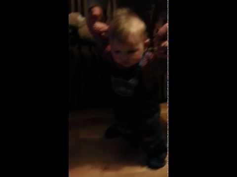 How to teach your baby how to walk...