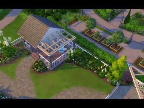 Lattice roofing technique - Sims 4