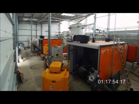 Heizomat Biomass Boiler Installation