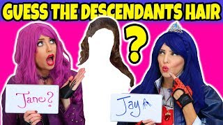 Descendants 2 Guess the Hair Challenge. Totally TV