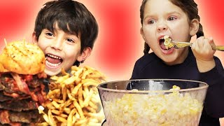 Surprising Kids With Giant Versions Of Their Favorite Foods