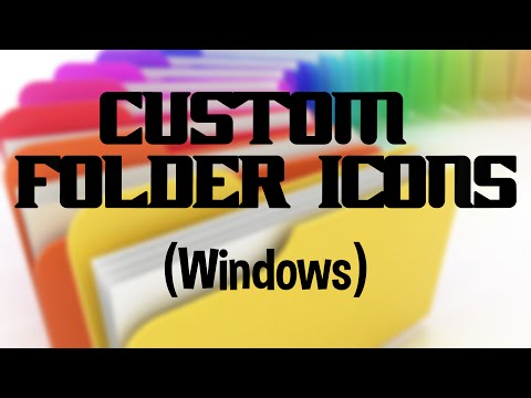 How to make custom Folder Icons (Windows)